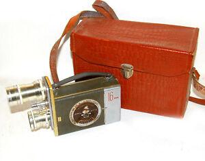 Kiev-16C-2 16mm Soviet Movie Cine camera Sovnarkhos #1173-61 1961 year