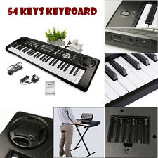 54 Keys Multifunctional Digital Electronic Keyboard Electric Piano Organ UK
