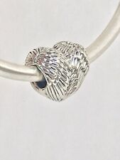 NWT/AUTHENTIC PANDORA CHARM  ANGELIC FEATHERS HEART #791751    RETIRED