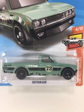 New Sealed Hot Wheels NISSAN DATSUN 620 GREEN Die Cast Metal Car Collectible