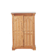 Dolls House Furniture 12th scale  Gothic Style Cupboard   J12062WN
