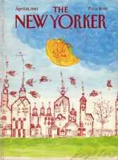New Yorker COVER 04/18/1983 - Birds & Buildings - LOW