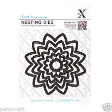 X cut 5 pc nesting dies flower 22 to 106mm Use Xcut, sizzix, big shot machines