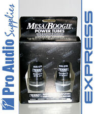 Mesa Boogie 6V6 GTA STR-417 Valves Tubes Matched Pair NIB Tested