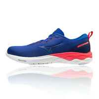 Mizuno Mens Wave Revolt Running Shoes Trainers Sneakers Blue Navy Sports