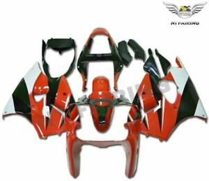 UK Fairing Plastic Injection Red Fit for Kawasaki 2000 2001 2002 ZX6R ZX-6R o017
