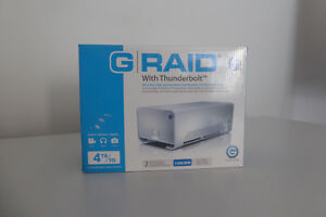 G-raid Thunderbolt 4TB