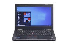 "C Grade Lenovo ThinkPad T430s 14"" Intel i5 4GB RAM 250GB HDD Win 10 WiFi Laptop"