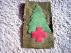 """WWI US Army patch 91st Infantry Division Medical Patch """"Pine Tree"""" AEF"""