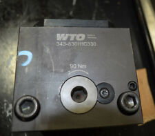 New WTO Face and ID Clamping Unit, back set with Coromant Capto C6 343-830111C33