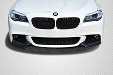BMW 5 F10 F11 Carbon M Performance Look Front Bumper Elerons Splitter flap fibre
