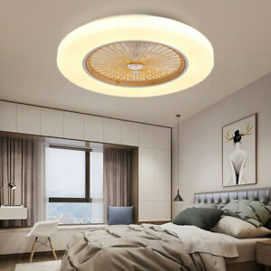 Ceiling Fan Light Lamp Nordic Creative Personality Living Room Quiet Household