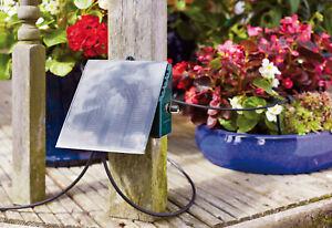 Irrigatia SOL C24 with 12 Drippers Solar Watering Greenhouse Garden Irrigation