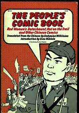 THE PEOPLE'S COMIC BOOK Softcover 1973 RED WOMEN'S DETACHMENT More CHINESE Tales