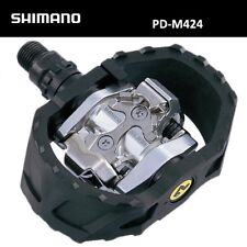 Shimano PD-M424 MTB Touring MULTI-PURPOSE Clipless SPD Pedals inc. Cleats