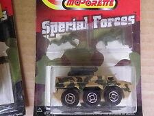 MAJORETTE SPECIAL FORCE VAB soldats vert V2 échelle 1/62 Neuf blister scellé