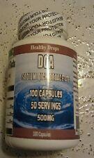 DCA - Sodium Dichloroacetate, 500mg, 100 Capsules 50 Servings FREE SHIP LOOK!!!!