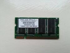Memory Laptop 256mb DDR333 PC2700sU30256AAUII6520