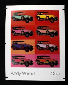 "Andy Warhol- ""Cars"" Mercedes-Benz Type 400 Tourenwagen 1925-1986 - Offset Poster"