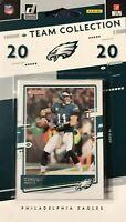 Philadelphia Eagles 2020 Donruss Factory Sealed 10 Card Team Set