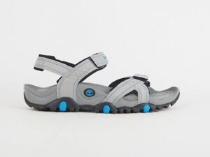 Mens Timberland Granite Trailray A169L Grey Blue Out Door Summer New Sandals