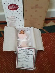 The Ashton Drake Galleries Handful of Love Baby Doll & Certificate New in Box