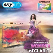 "SKY 32"" (81 cm) SERIES 6 FULL HD CURVED LED TV WITH 1 YEAR MANUFACTUR WARRANTY"