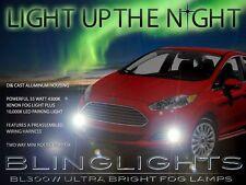 2014-2015 Ford Fiesta Xenon Halogen Fog Lamps Driving Lights Kit Sedan / Hatch