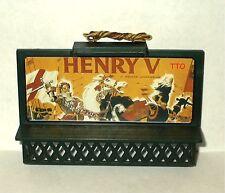 HO SCALE LIGHTED BILLBOARD HENRY V WILLIAM SHAKESPEARE NEW