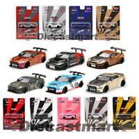 MINI GT 1:64 Nissan GTR R35 LB WORKS Diecast Model Car True Scale NISMO New