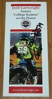 2015 Josh Cartwright signed Yamaha YZ250F AMA Supercross Motocross brochure