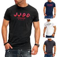 Jack & Jones Herren T-Shirt O-Neck Print Shirt Kurzarmshirt Casual Streetwear