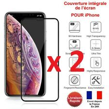 VERRE TREMPE IPHONE VITRE PROTECTION ECRAN 11 PRO MAX SE 2020 6 7 8PLUS X XR XS