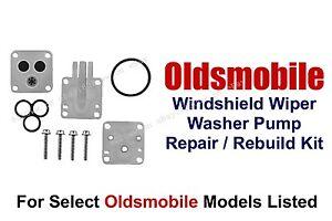 Windshield Washer Pump Repair Rebuild Kit Select 1970-1990 Oldsmobile 11-101