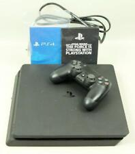 PS4 PLAYSTATION 4 Slim 1TB SONY Gaming Console Power Cord Controller CUH-2115B