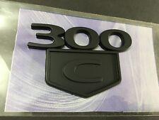 300C Trunk Car Emblem for Chrysler Series 300C 2005-2010 HEMI BADGE Matte Black