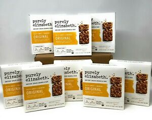 Purely Elizabeth Ancient Grain Granola Bar Original (Box of 8) Best by 04/21