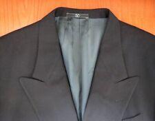 VALENTINO Mens Black Virgin Wool Jacket Size L