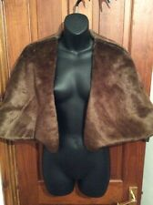 DESIGNER Fake Fur BNWT Cape Shrug BETTY JACKSON Faux UK 18 Jacket