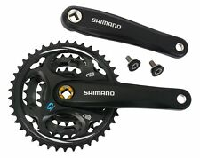 Square Taper ISO Triple Chainring Bicycle Chainsets & Cranks