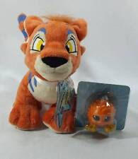 Neopets Plush Orange Kougra and Figure Jakks Pacific with Keyquest Tag and Code