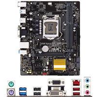 For ASUS B85M-V5 PLUS Intel Socket LGA 1150 Micro ATX Motherboard DDR3 Mainboard