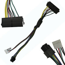 """12"""" 30cm ATX Main 24-Pin to 6-Pin PSU Power Adapter Cable 18AWG for HP Z220 Z230"""