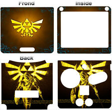 Zelda Legend of Zelda Link Between Worlds Skin Sticker Cover for Nintendo GBA SP