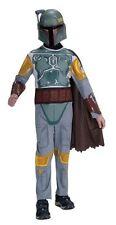Youth Boy Costume - Star Wars Boba Fett Costume Sz M (8-10) NIB