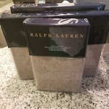 New Ralph Lauren 4PC King Sheet Set- MODERN ICONS  Ruth Taupe