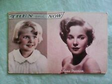 #173 Vintage NOS Penny Arcade Card - MONA FREEMAN - THEN AND NOW
