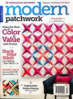 MODERN PATCHWORK MAGAZINE March/April 2018 Fons & Porter Color and Value