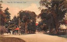 OLD SAYBROOK, CT ~ MAIN ST. ~ W. J. NEIDLINGER, PUB. ~ c. 1910s