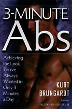 3-MINUTE ABS By Kurt Brungardt ( BRAND NEW )